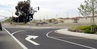 turn lane